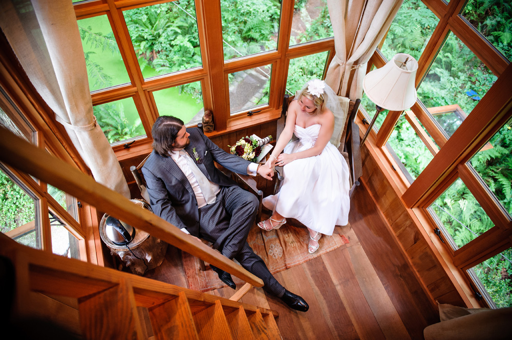 Thomas And Christine Treehouse Point Elopement Wedding
