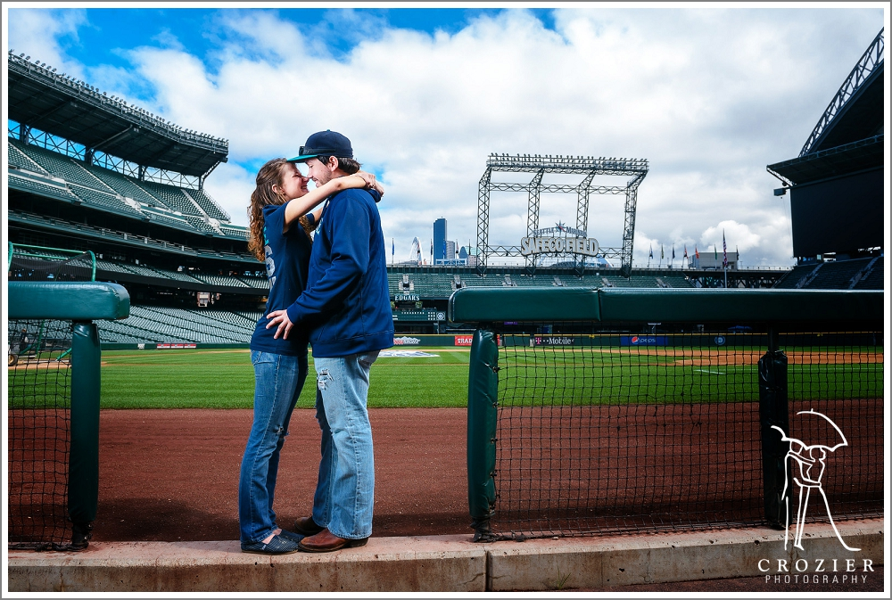 Safeco field couples photography: Seattle Mariners fan ...