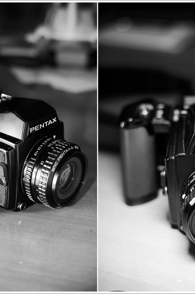 Breaking out of my comfort zone: Learning to shoot film