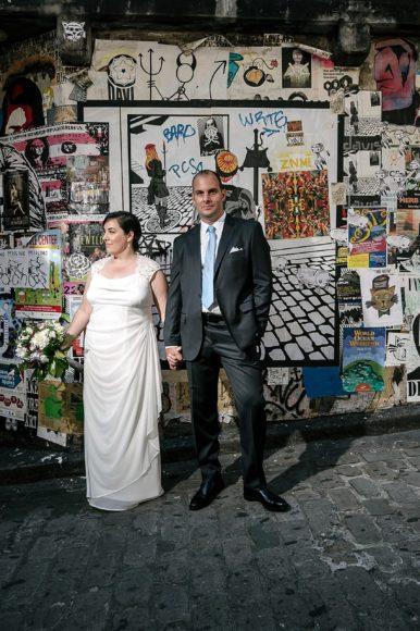 Carrie and Dennis Beecher's loft wedding sneak peak