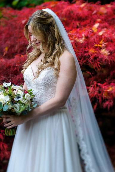 A colorful fall wedding at JM Cellars